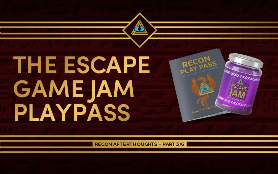 Recon '21 Afterthoughts – Escape game jam, Playpass – Part 3